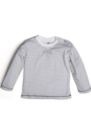 Soobe Kız Newborn T-Shirt Ekru 15 - 18 Ay