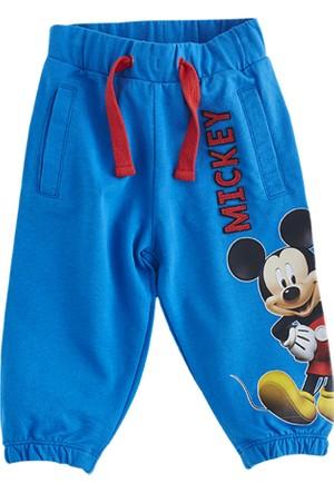 Soobe Lisanslı Disney Mickey Mouse Eşofman Altı Lacivert 4 Yaş