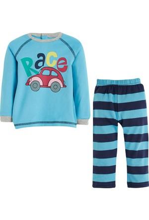 Soobe Araba Baskılı Pijama Takımı