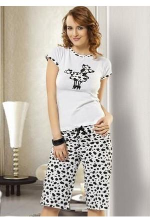 Derya Kurşun 291 Bayan Pijama Takım