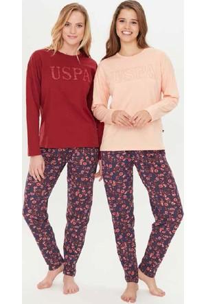 U.S. Polo 15700 Yuvarlak Yaka Pijama Takım
