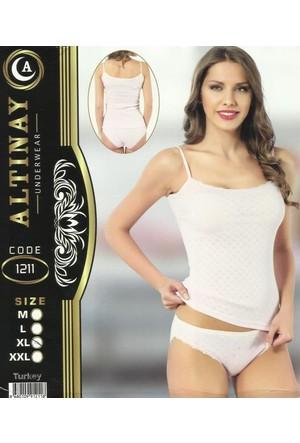 Altınay 1211 Bayan Takım Beyaz