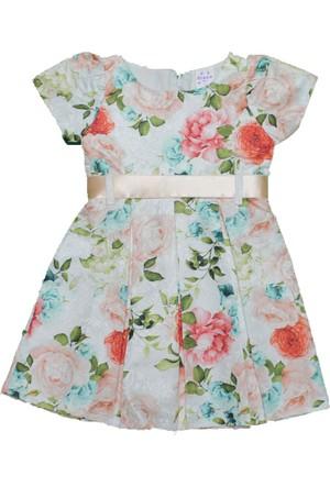 Özbem Elbise 3001 Jakarlı N.Çiçeği