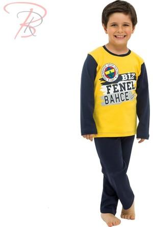 Fenerbahçe Fenerbahçe Lisanslı Çocuk Pijama Takımı 12 Yaş