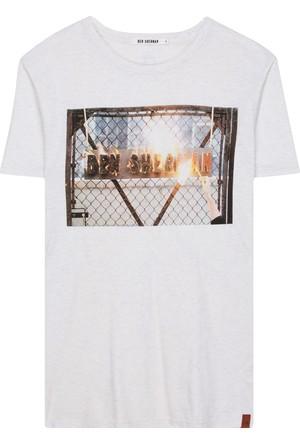 Ben Sherman Fire Logo T-Shirt