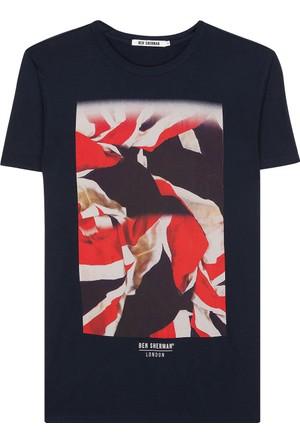 Ben Sherman Flag Print T-Shirt