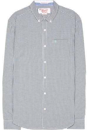 An Original Penguin Uzun Kollu Basic Gingham Gömlek