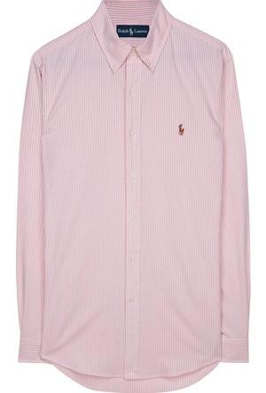 Ralph Lauren Custom Fit Çizgili Oxford Gömlek
