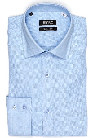 Pin Gömlek Kensington Aircell Erkek Gömlek