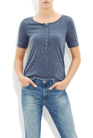 Mavi Kadın Gece Mavi Basic T-Shirt