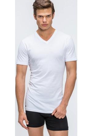 Lacoste İç Çamaşır T-Shirt Ram8801.Wh1