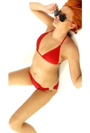 Terry Pau Tp120606 Ateş Kırmızısı Bikini Takım