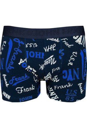 John Frank Baskılı Boxer