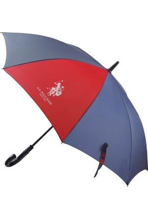 U.S Polo Assn. Lacivert Baston Şemsiye Plşem6601