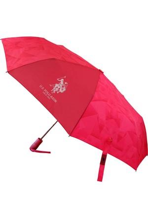 U.S Polo Assn. Pembe Şemsiye Plşem6605