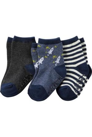 Carter's Erkek Çocuk 3'Lü Çorap GB14721