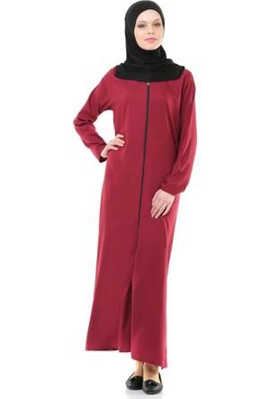 İhvan 5008-3 Pratik Kendinden Örtülü Namaz Elbisesi
