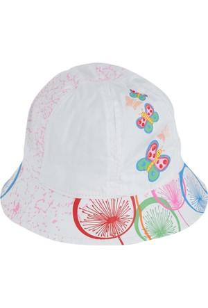 Soobe Kelebekli Fotr Şapka 1 - 4 Yaş