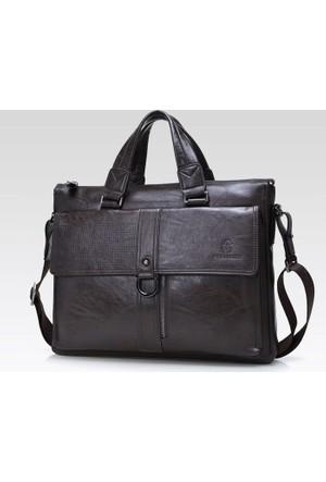 Dıoulaorentou Business Fashion Men Leather Briefcase