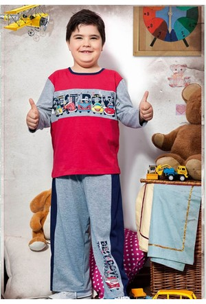 Özkan 30296 Erkek Çocuk Pijama Takım