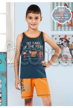 Özkan 30502 Erkek Çocuk Şortlu Takım - Lacivert