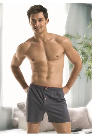 Özkan Erkek Penye Boxer %100 Pamuk