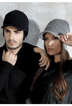 Fonem 62060 Siperli ve Kulaklı Bayan Erkek Şapka Bere