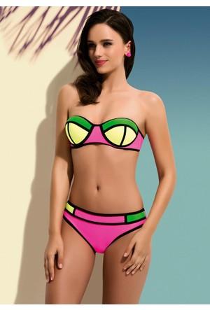 Straplez Desteksiz Bikini 5745 Sungate