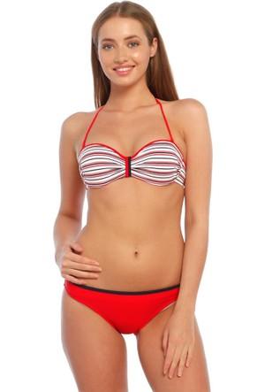 Full Likra Desteksiz Bikini 60221 Beria