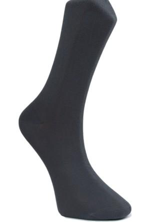 Dikişsiz Erkek Çorap - Koyu Füme - Modalı