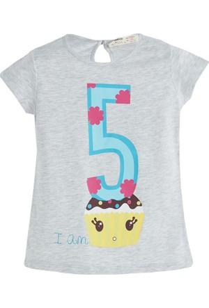 Soobe Pop Girls 5 Yaş Temalı Kısa Kol T-Shirt 5 Yaş