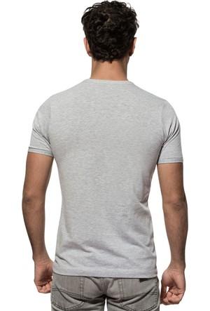 Özkan Erkek V Yaka Yarım Kol T-Shirt 0273