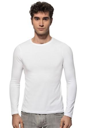 Özkan Erkek Bisiklet Yaka Uzun Kol T-Shirt 0266