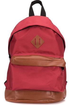 Oxide Ert16W102 Bordo Unisex Backpack Çanta