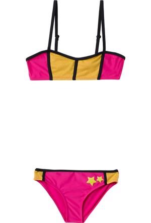 DeFacto Yıldız Baskılı Genç Kız Bikini