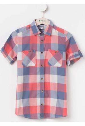 DeFacto Genç Erkek Kareli Gömlek