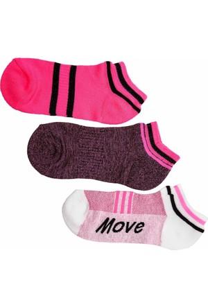 DeFacto 3'Lü Patik Çorap