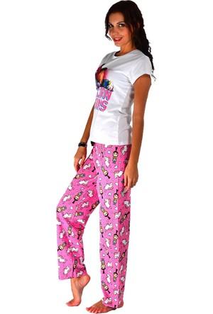 Modamla Çocuk Baskılı Pijama Takımı
