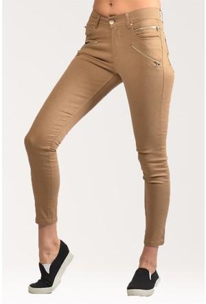 Modamla Dört Fermuarlı Bilekte Pantolon