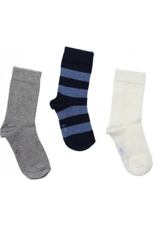 ModaKids Wonder Kids Erkek Çocuk 3 lü Soket Çorap 010-5024-011