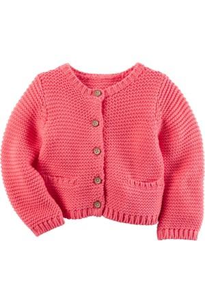 Carter's Layette Kız Bebek Hırka 126G257