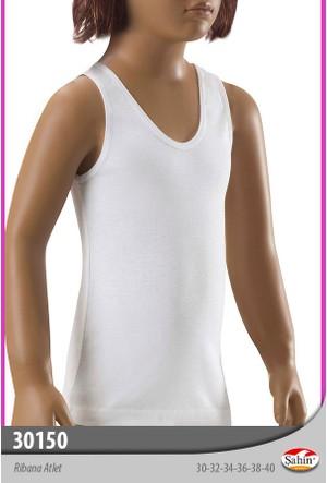 Limissi 30150 Şahin Ribanalı Atlet Kız - Beyaz