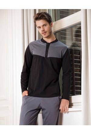 Yeni İnci EPJ-602 Süprem Erkek Pijama Takımı