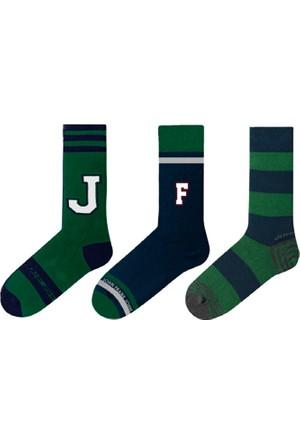 John Frank 3'lü 17W Uzun Çorap
