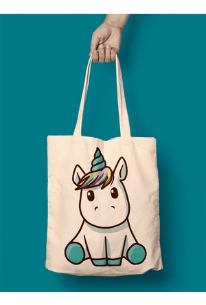 iF Dizayn Minik Unicorn Bez Çanta