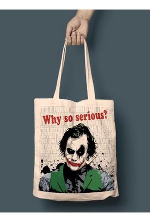 iF Dizayn Joker Why so serious Bez Çanta