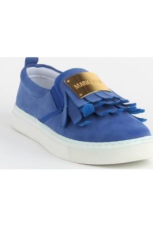 Markazen Püsküllü Spor Ayakkabı - Lacivert