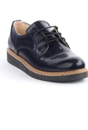 Markazen Oxford Ayakkabı - Lacivert 03