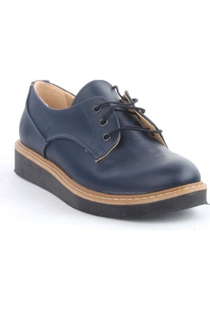 Markazen Oxford Ayakkabı - Lacivert