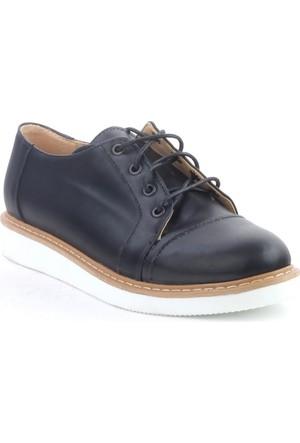Markazen Oxford Ayakkabı - Siyah